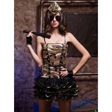 Эротический костюм военной S/M