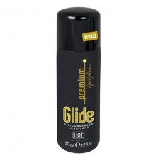 Glide Premium лубрикант на силиконовой основе 'Премиум увлажнение' 50 мл