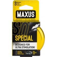 Презервативы Maxus Special, точечно-ребристые, 3 шт