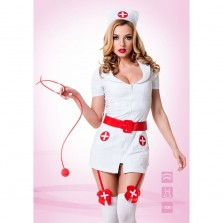 Костюм похотливой медсестры  Le Frivole , размер S/M