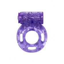 Эрекционное кольцо с вибрацией Rings Axle-pin purple