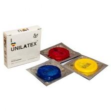 Мультифруктовые презервативы Unilatex® Multifruit 1 уп (3 шт)
